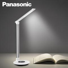松下(Panasonic)国A级减蓝光护眼台灯六段/连续调光工作阅读儿童学生学习台灯 HHLT0612银色