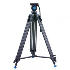 百诺(Benro)摄像机三脚架 KH25N 单反三脚架 铝合金 专业摄像机液压云台 多功能摄影摄像三角架云台套装