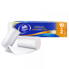 维达(Vinda) 无芯卷纸 超韧4层140克*12卷 卫生卷筒纸 纸巾
