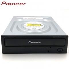 先锋(Pioneer)24倍速 SATA接口内置DVD刻录机 台式机光驱 黑色/支持windows XP/7/8/10系统/S21WBK