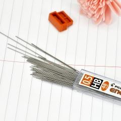 日本百乐(PILOT)自动铅笔芯/活动铅芯 0.5mm HB替芯 48根装PL-5ENOG-48-HB原装进口