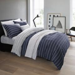 百富帝(byford)四件套纯棉家纺 床上用品床单枕套双人全棉斜纹套件1.5/1.8米床被套200*230 悠闲时光