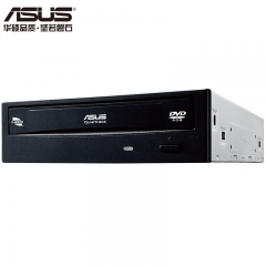 华硕(ASUS) 18倍速 SATA DVD光驱 黑色(DVD-E818A9T)