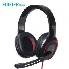 漫步者(EDIFIER) HECATE G20专业版 USB7.1声道  头戴式耳机带线控 音乐教育办公学习电脑耳麦 黑色