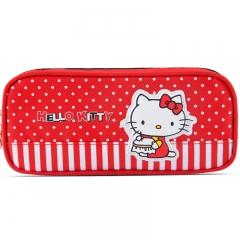 广博(GuangBo)帆布经典大容量铅笔袋文具袋/学习用品 凯蒂猫KT85004
