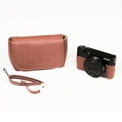 索尼(SONY)LBI-RXcase 黑卡相机包 深棕色(适用RX100M3/M4/M5)