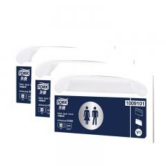 维达 多康Tork 一次性马桶坐垫纸250张*20盒(整箱销售)可冲溶水