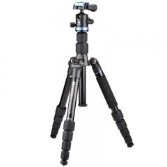 百诺(Benro)IT19 反折可变独脚架 三脚架云台套装 单反微单相机便携款
