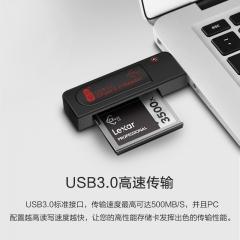 川宇 USB3.0高速CFast 2.0读卡器佳能1DX/C300/XC10专业级单反相机内存卡专用读卡器C302