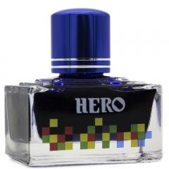 英雄(HERO)钢笔/签字笔钢笔墨水 非碳素染料型彩色墨水系列 7110彩墨深蓝色