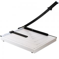 得力(deli) 8012 钢质切纸机/切纸刀/裁纸刀/裁纸机 460mm*380mm