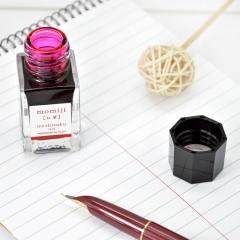 日本百乐(PILOT)钢笔墨水彩墨 红叶 15ml INK-15-MO原装进口