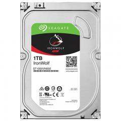希捷(Seagate) NAS硬盘 1TB 64MB 5900转 PMR CMR垂直磁记录 网络存储 SATA 希捷酷狼IronWolf ST1000VN002