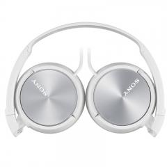 索尼(SONY)MDR-ZX310 头戴式立体声耳机 监听耳机 白色