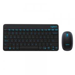 罗技(Logitech)MK245 Nano 键鼠套装 无线键鼠套装 办公键鼠套装 黑色 带无线2.4G接收器