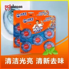 威猛先生洁厕块清香40g*10  厕所卫生间清洁剂 马桶洁厕灵 去污除垢除菌