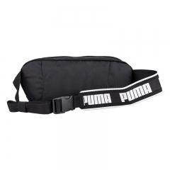 彪马(PUMA)包 运动包 腰包 Sole Waist Bag 胸包 斜挎包 076639 01 黑色