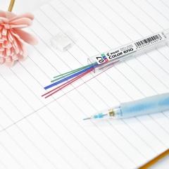 日本百乐(PILOT)彩色活动铅笔芯/自动铅芯 0.7mm红/蓝/绿 3色6根装 PLCR-7-RLG原装进口
