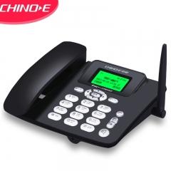 中诺(CHINO-E)插卡电话机 移动固话   WCDMA联通3G网 兼容2G3G4G手机SIM卡 办公座机 C265C联通3G版黑色