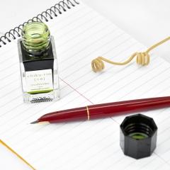 日本百乐(PILOT)钢笔墨水彩墨 竹林 15ml INK-15-CHK原装进口