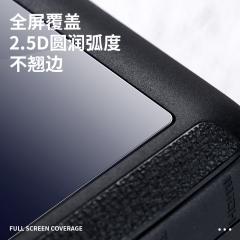 绿巨能(llano)相机钢化膜 GoPro Hero5/6/7 相机屏幕贴膜 高清防刮保护膜 数码液晶屏配件 2片装