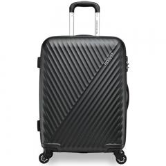 美旅拉杆箱 28英寸时尚商务男女行李箱 超轻万向轮旅行箱密码锁AX9黑色