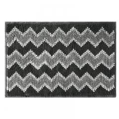 佳佰 热销时尚简约线条地毯几何波浪纹地垫卧室床边客厅浴室地垫