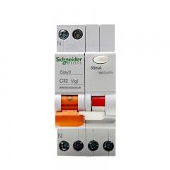 施耐德电气 带漏电保护断路器(A型) 空气开关 双进双出 1P+N C32A EA9系列MGNEA9C45C3230CAR