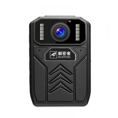 解密者(DECRYPTERS)DSJ-A5执法记录仪 执法仪 高清现场记录仪便携式视频音频记录仪专业摄像机 内置64G