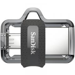 闪迪 (SanDisk) 32GB  Micro USB3.0  U盘 DD3酷捷 黑色 读速150MB/s 安卓手机平板三用 便携APP管理软件