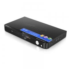 先科(SAST)SA-006 DVD播放机影碟机HDMI高清巧虎播放机 (支持5.1声道 HDMI接口 光纤接口 VGA接口 话筒接口)