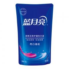 蓝月亮 洗衣液袋装亮白增艳1kg(薰衣草)