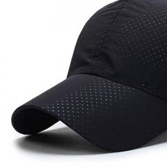 GLO-STORY 棒球帽男 韩版休闲百搭遮阳帽户外运动棒球帽  MMZ814103 黑色