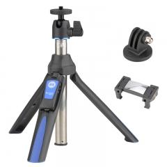 百诺(Benro)MK10 手机自拍杆蓝牙无线遥控桌面迷你便携带相机VLOG三脚架GOPRO多功能