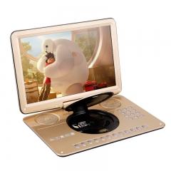 先科(SAST)FL-108A dvd播放机便携式 DVD影碟机cd机便携式USB播放器 全格式DVD 17.8英寸(香槟金)