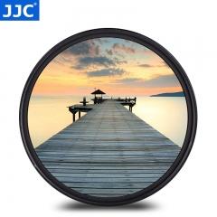 JJC 49 mm MC UV 滤镜 保护镜 佳能50 1.8 STM/15-45镜头配件M100 M50 M6微单相机 索尼SONY rx1r2 49毫米