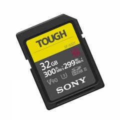索尼(SONY)SF-G32T/T1 SF-G 系列32g TOUGH规格SD卡读取300MB/S写入299MB/S