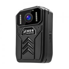 解密者(DECRYPTERS)DSJ-A5执法记录仪 执法仪 高清现场记录仪便携式视频音频记录仪专业摄像机 内置32G