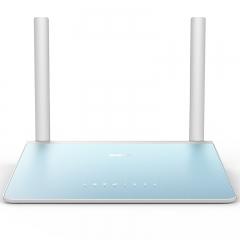 360安全路由器P1 家用300M无线穿墙 光纤wifi信号放大 智能无线路由器(湖波青 穿墙版)