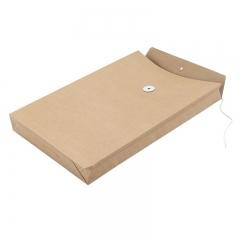 广博(GuangBo)10只175g加厚牛皮纸档案袋资料文件袋高质感 EN-11