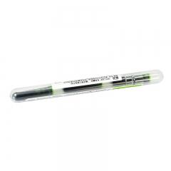 日本百乐(PILOT)元气小钢笔用墨胆/迷你钢笔墨囊 苹果绿 3支装IRF-10SPN-AG原装进口