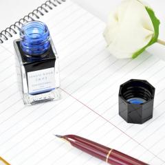 日本百乐(PILOT)钢笔墨水彩墨 露草 15ml INK-15-TS原装进口