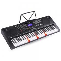 美科(MEIRKERGR)MK-975(智能版) 亮灯跟弹61键钢琴键多功能智能电子琴 连接U盘手机pad带琴架