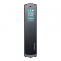 纽曼Newsmy AI智能录音笔 i03 终身免费转写 中英文同声翻译 声文速记 专业降噪一键录音 32G+云存储 太空灰