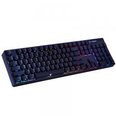影级(iNSIST)90S RGB炫彩背光机械键盘 Cherry樱桃黑轴 104键侧刻游戏键盘 吃鸡键盘 宏编程笔记本电脑键盘