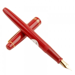 日本百乐(PILOT)FP-78G+钢笔EF尖 男女学生书法练字笔 红色原装进口
