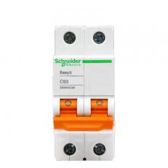 施耐德电气(Schneider Electric)空气开关 家用微型断路器 双进双出 家用总闸 2PC63A EA9系列EA9AN2C63R
