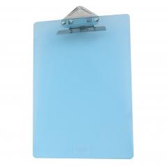 金隆兴(Glosen)板夹A4书写文件夹报告夹资料夹学生写字板试卷夹 带刻度尺透明蝴蝶夹子 C1079