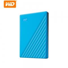 西部数据(WD)1TB USB3.0移动硬盘My Passport随行版 2.5英寸 蓝色(密码保护 自动备份)WDBYVG0010BBL