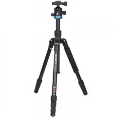 百诺(Benro)三脚架 IF18+ 单反三脚架云台佳能尼康相机 超强锁紧 稳定便携 反折 可转独脚架